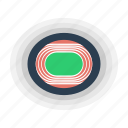 arena, runnning, stadium, track icon