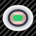 arena, runnning, track, stadium icon