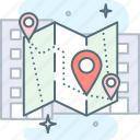 address, direction, gps, location, map, navigation, pin icon