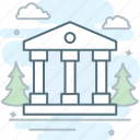bank, banking, building, column, finance