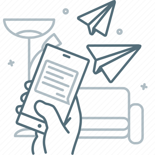 Conversation, message, mobile, send, smartphone, talk icon - Download on Iconfinder