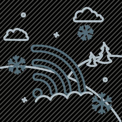 network, no signal, off, snow, wifi, wireless icon