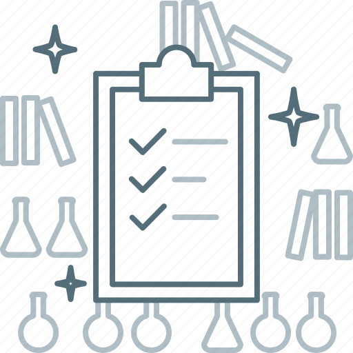 Check, checklist, clipboard, laboratory, test icon - Download on Iconfinder