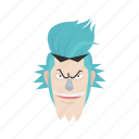 anime, cartoons, fictional character, franky, one piece, pirate, shipwright icon