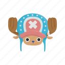 anime, cartoons, chopper, fictional character, one piece, pirate, pirate doctor icon
