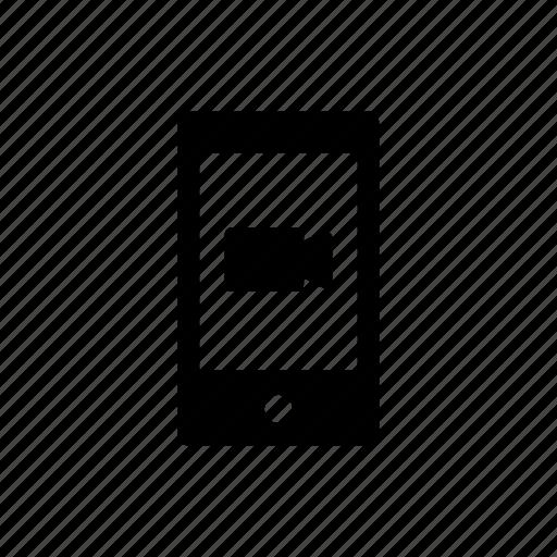 mobile, movie, online, video, website icon