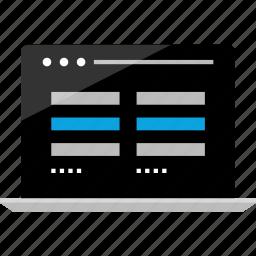 activity, chat, conversation, internet, laptop, online, wireframe icon