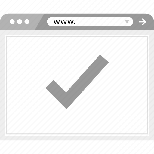 brower, good, ok, wireframe icon