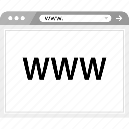 brower, web, website, wireframe, www icon