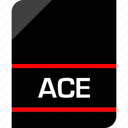 ace, document, extension, file icon