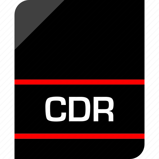 cdr, document, extension, file icon
