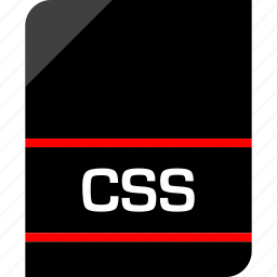 css, document, extension, file icon