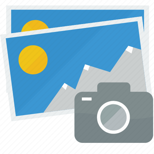 camera, gallery, images, photos, pictures icon