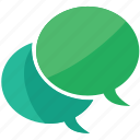 bubbles, chat, comment, messages icon