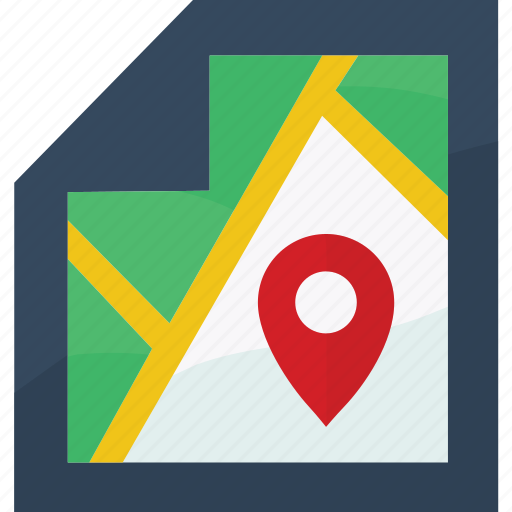 direction, location, locator, map, marker, navigation icon