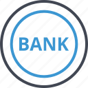 bank, banking, coin, money, note icon