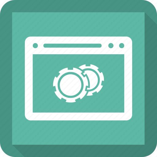 browser, internet, setting, webpage, website icon