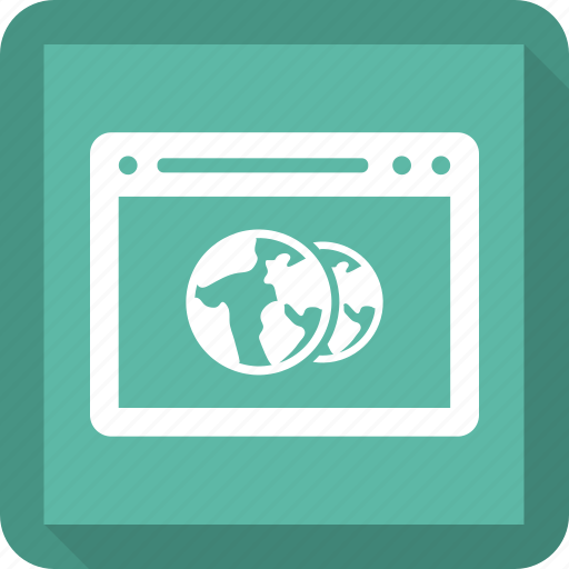 browser, earth, internet, seo, web, website icon