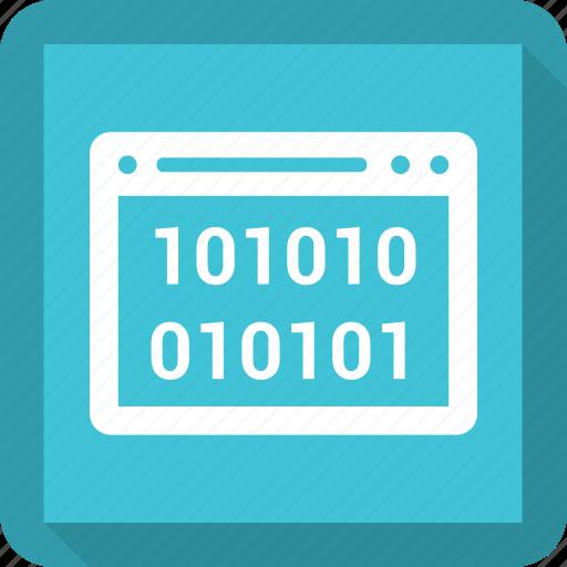 browser, cod, coding, internet, seo, web, website icon