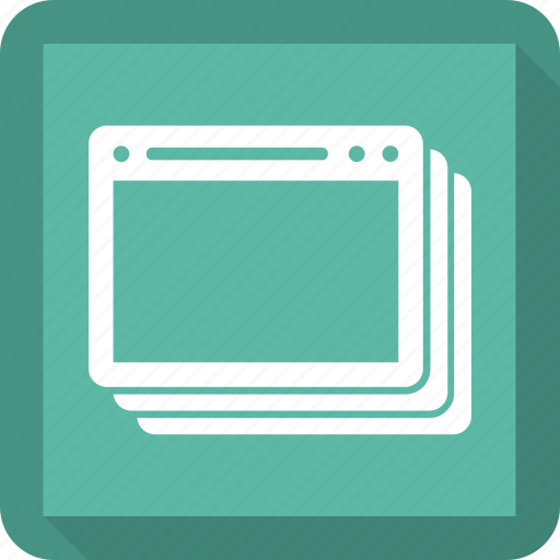 app, application, browser, window icon