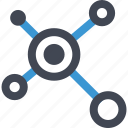 data, internet, online, server icon