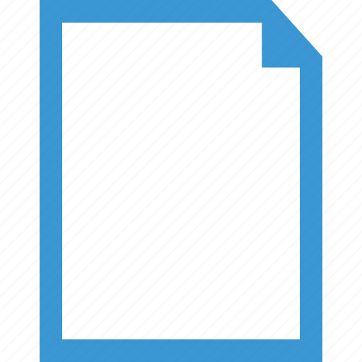 document, file, online, paper icon