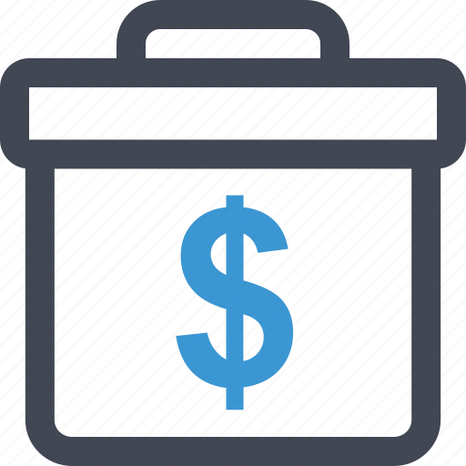 dollar, money, online, professional, sign icon