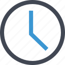 clock, online, time, watch icon