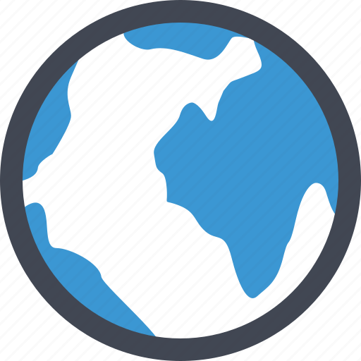 earth, globe, online, world icon