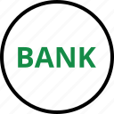 bank, banking, business, internet, loan, online, web icon