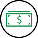 bill, business, dollar, money, pay, payment, sign icon