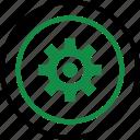 business, gear, graph, options, plan, setup icon