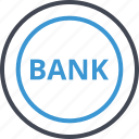 bank, banking, online, web icon