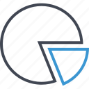 business, chart, graph, pie, report icon