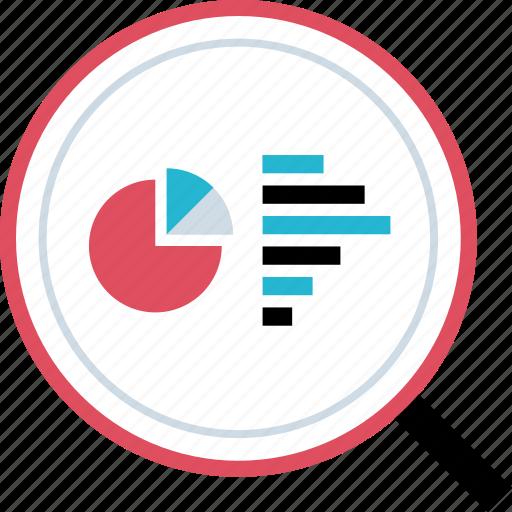 analytics, search, seo, web icon