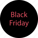 black friday, event, sale icon