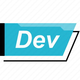dev, developer, development, scripting icon