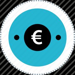 euro, money, sign, uk icon