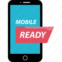 bank, banking, mobile, ready icon