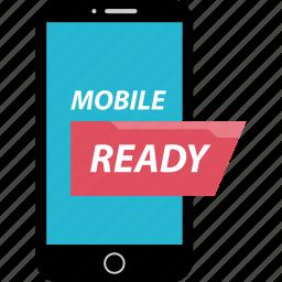 bank, banking, mobile, ready icon