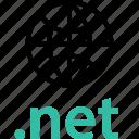 extension, globe, internet, net, online, web icon