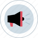 advertise, loud, speak, speaker icon