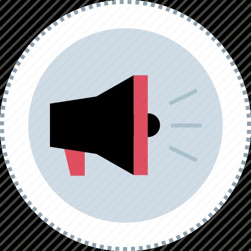 advertise, loud, speak, speaker icon