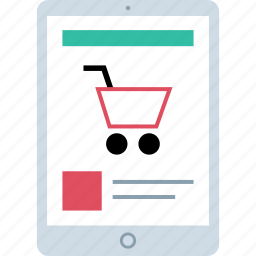 amazon, shop, shopping, tablet icon
