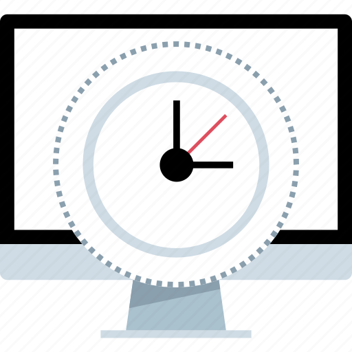 date, due, online, time icon