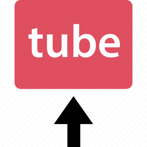 internet, online, tube, upload, video, web icon