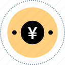 asian, chinese, currency, yen icon