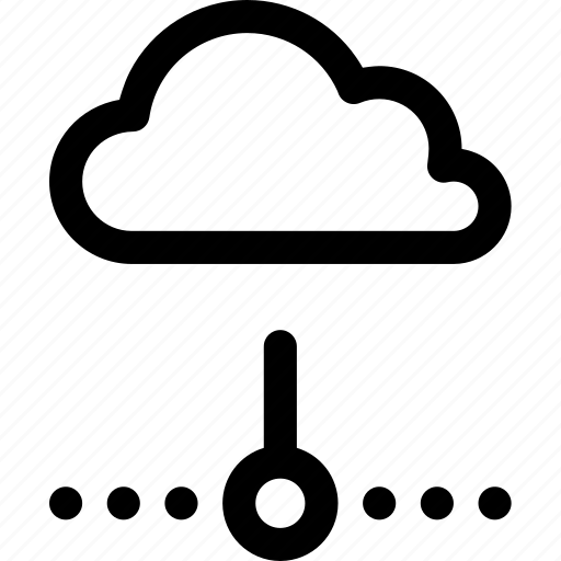 cloud, disconnected, internet, lost, network, offline, server icon