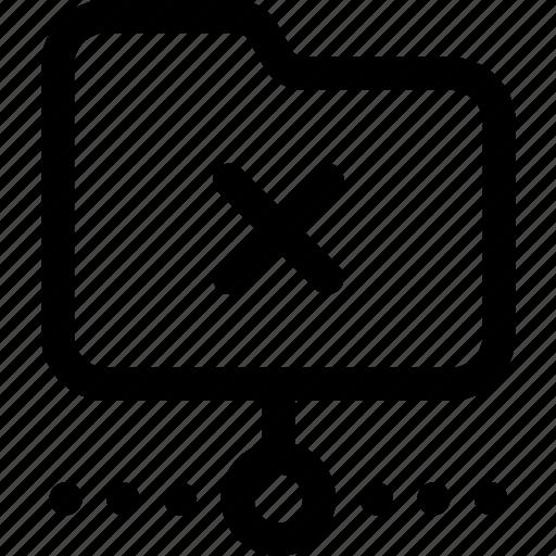 error, folder, network, offline, synchronizing, unavailable, web icon