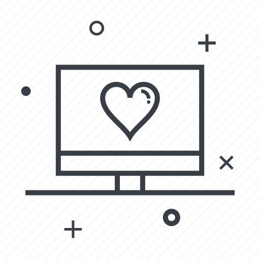 date, dating, love, monitor, romantic icon